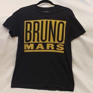 Bruno Mars 24K World Tour Shirt
